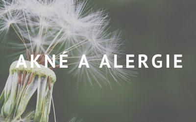 Alergie a akné: Je pro alergiky těžší zbavit se akné?