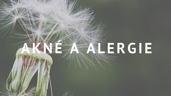 Akné a alergie