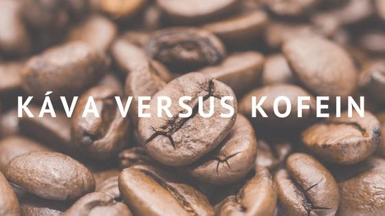 káva kafe kofein akné