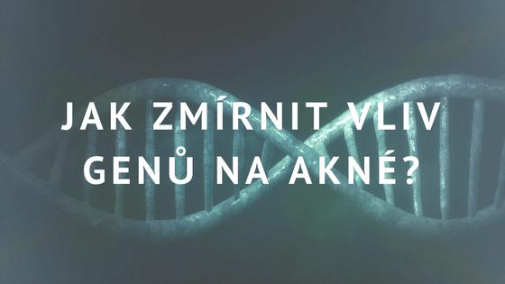 geny a akné geneticky