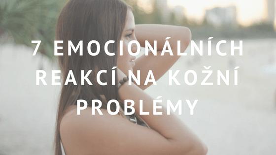 negativní emoce akné