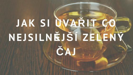 Zelený čaj a akné