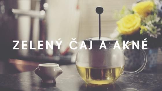 Zelený čaj: Zázračný nápoj, který vás zbaví akné?