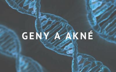 Geny a akné: Je akné dáno geneticky nebo je to mýtus?