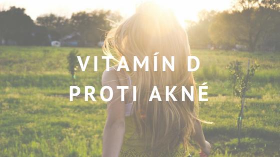 vitamín D a akné
