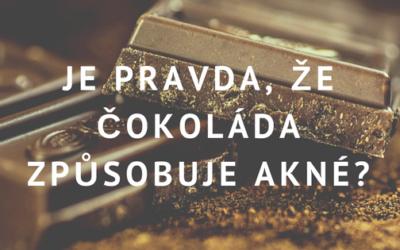 Čokoláda: Způsobuje čokoláda akné, nebo je to mýtus?