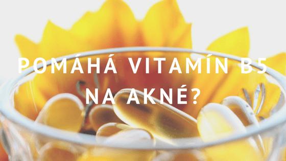 Vitamín B5 a akné