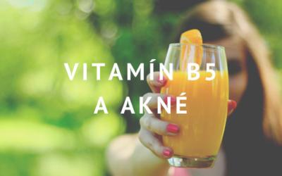 Vitamín B5 a akné: Proč raději šetřit peníze na něco jiného
