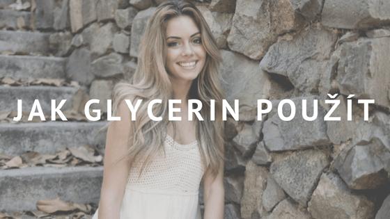 Glycerin proti akné a hydratace